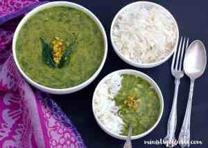 garlic dill lentils