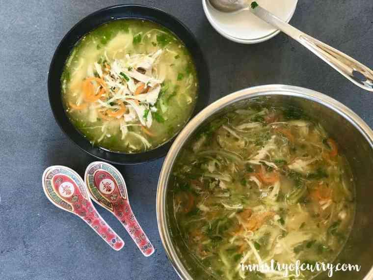 chicken coriander soup