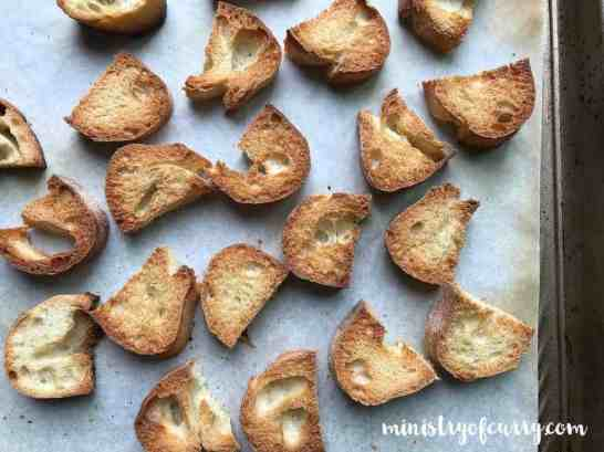 french onion soup croutons