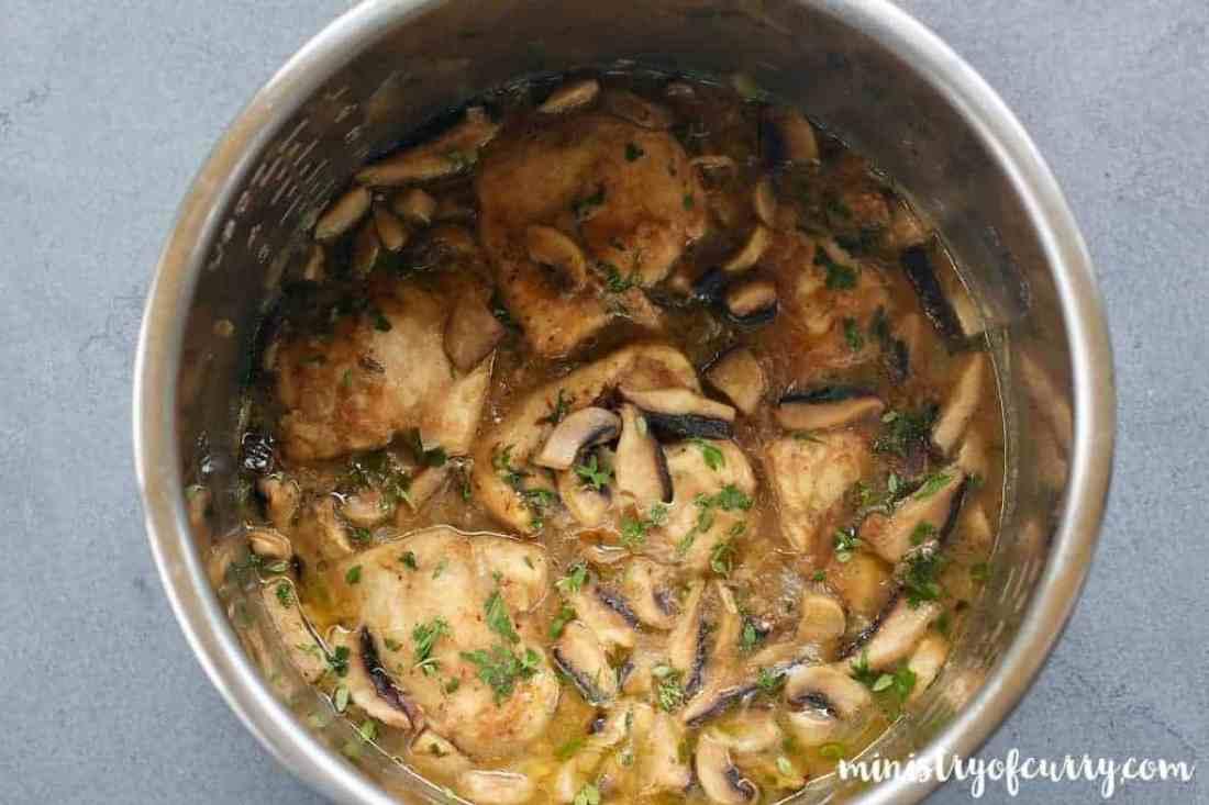 Chicken Marsala - Instant Pot