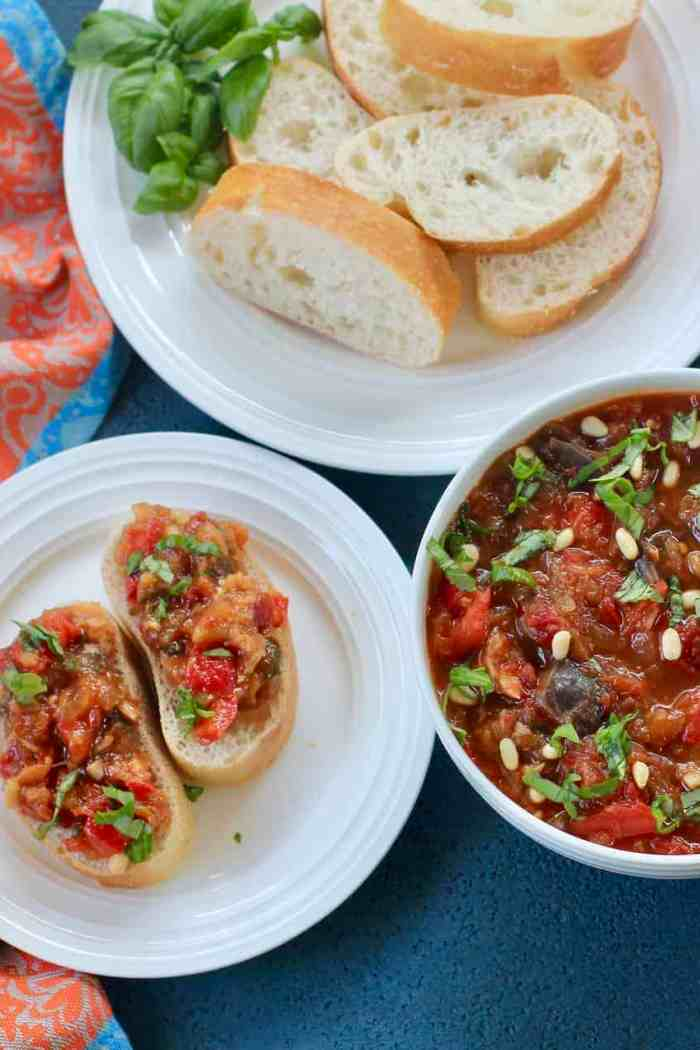 Eggplant and Red Pepper Spread – Instant Pot
