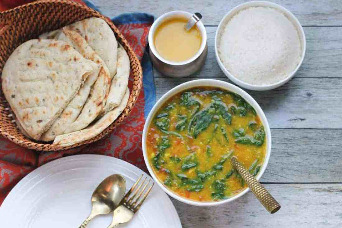 Easy Spinach Daal