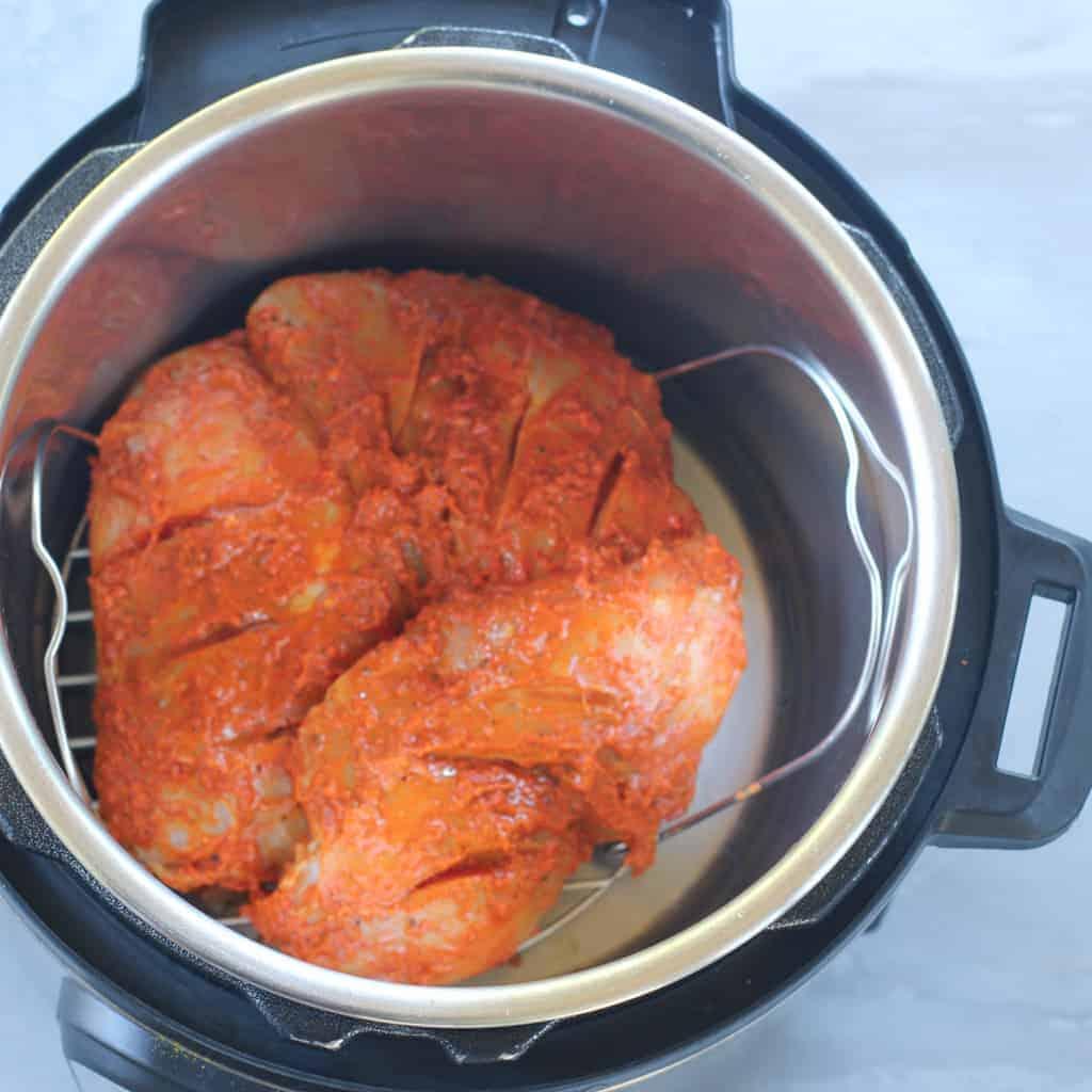 Tandoori Chicken Lettuce Wraps