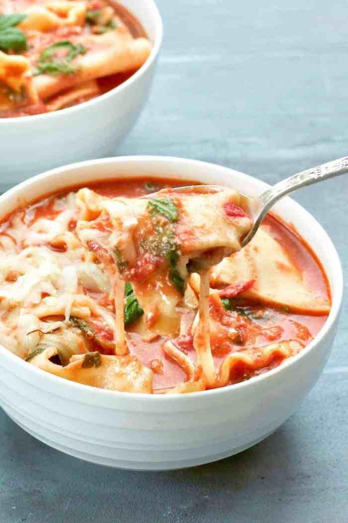 Lasagna Soup – Instant Pot