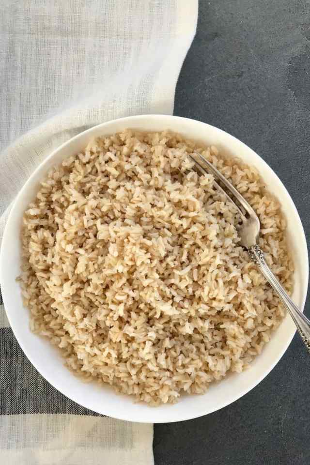 Instant Pot Brown Rice (13 ways to cook) - Ministry of Curry
