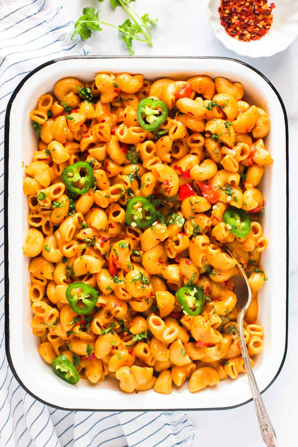 spicy masala mac and cheese