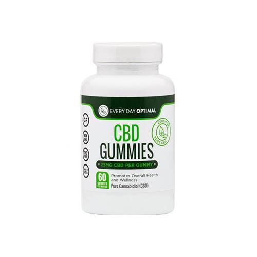 Every Day Optimal 25mg Gummies
