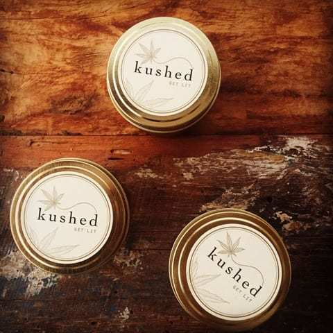 Kushed Candles (Ministry of Hemp Black Friday Hemp Deals)