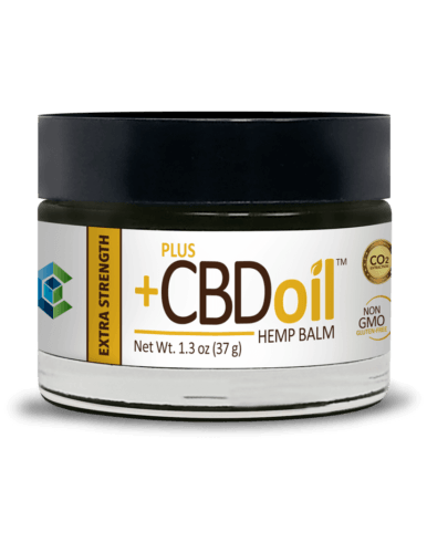 PlusCBD Oil CBD Balm (Ministry Of Hemp Official Valentines Day CBD Gift Guide)