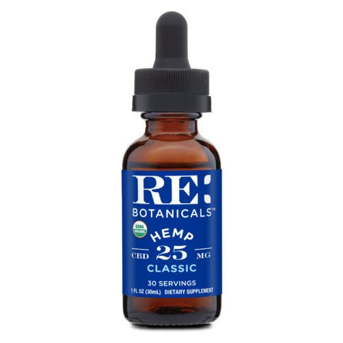 RE Botanicals Hemp Tincture Classic 25MG (Ministry Of Hemp Official CBD Review)