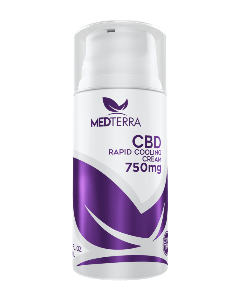 Medterra CBD Rapid Cooling Cream (Ministry of Hemp Official CBD Review)