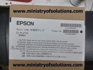 Epson Projector H295B Lamp Replacement Procedure