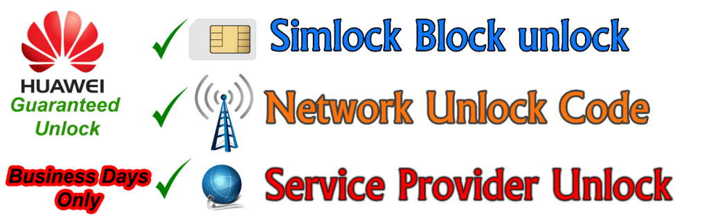Huawei Network unlock .png
