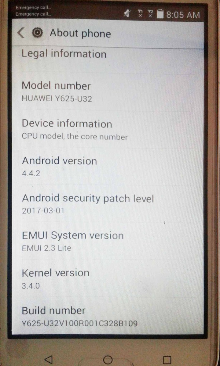 Huawei Y625-u32 Firmware B109 (Middle East - Africa)