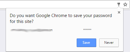 how safe is saving passwords in chrome