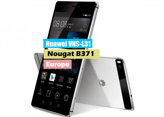 Huawei P9 Lite VNS-L31 Nougat B371 Update Stable (Europe-Single Sim)