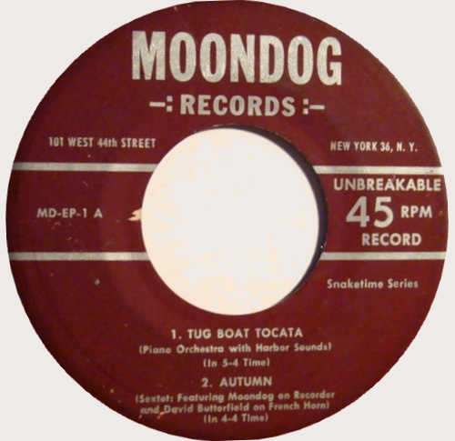 Single issu du disque More Moondog