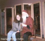 Moondog et sa fille Lisa DellaVecchia 1989