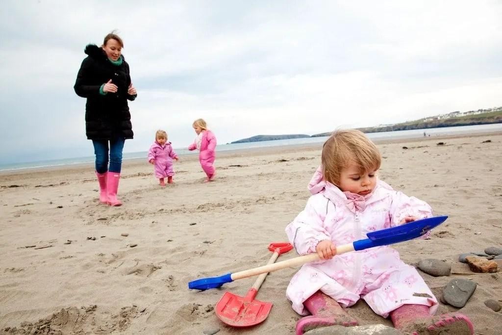 At the beach croft-farm-pembrokeshire www.minitravellers.co.uk