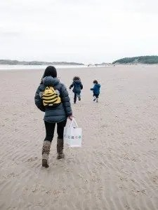 Mini Travellers - Newborough Beach, Anglesey