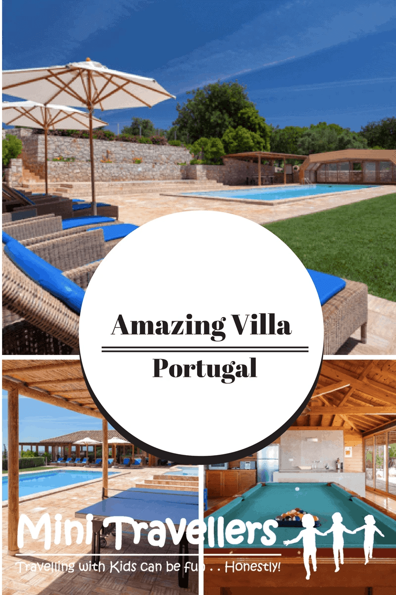 Family Friendly Villa in Portugal www.minitravellers.co.uk