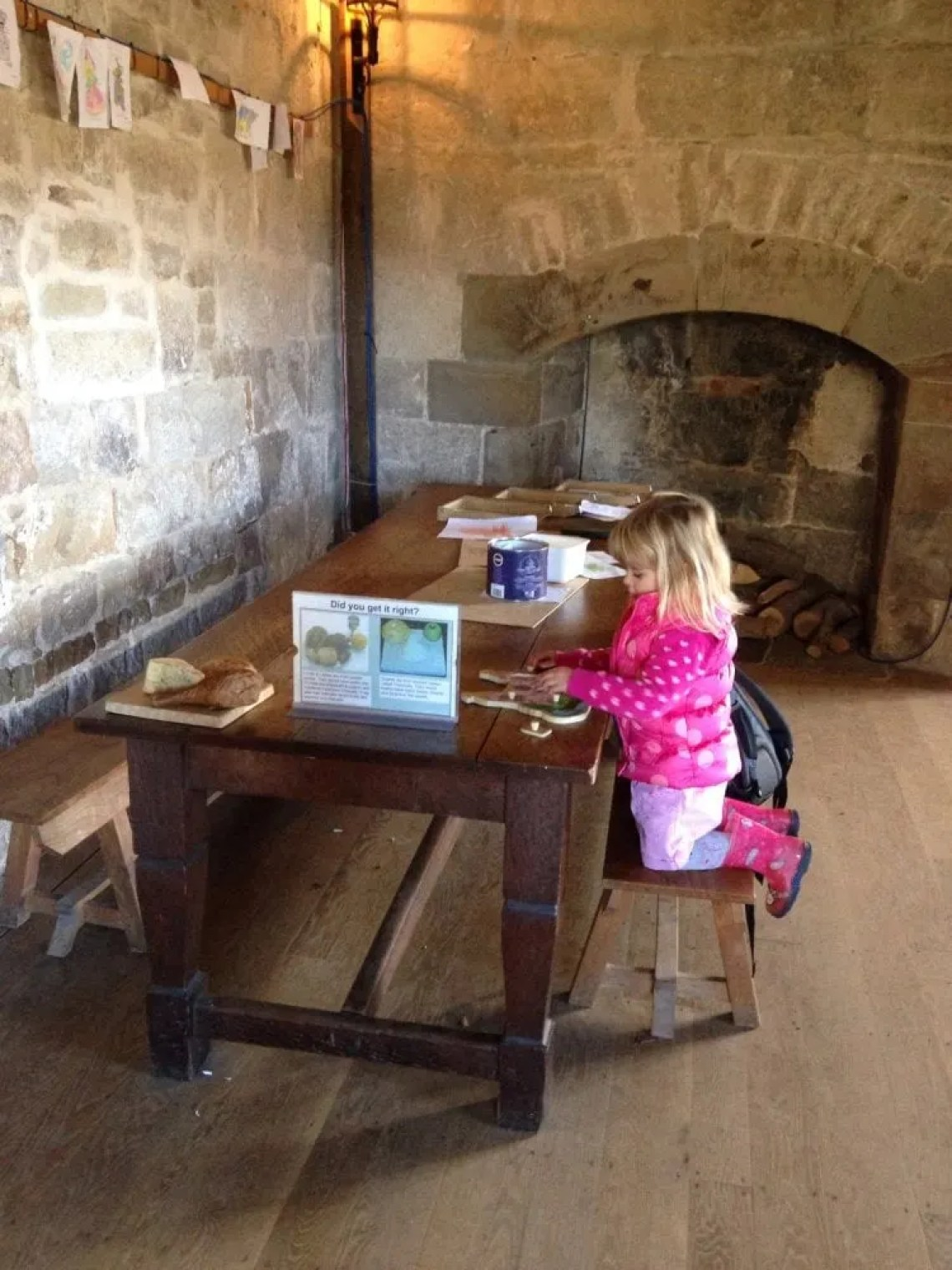 Chirk Castle with Mini Travellers