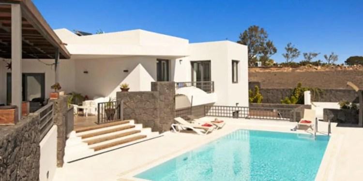 Villa Inma Calero Lanzarote www.minitravellers.co.uk
