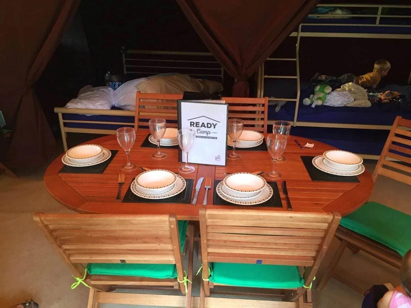 Ready Camp At Blackmore Camping And Caravan Club Site