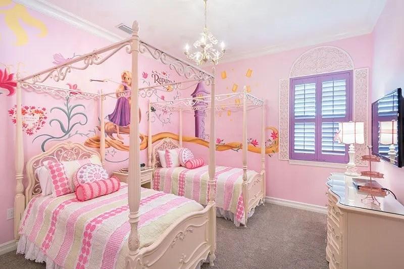 Reunion Resort 453's Tangled bedroom