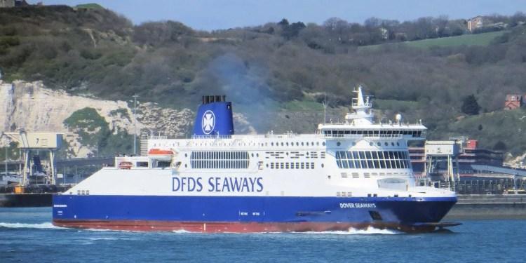 DFDS Ferry Dover to Calais