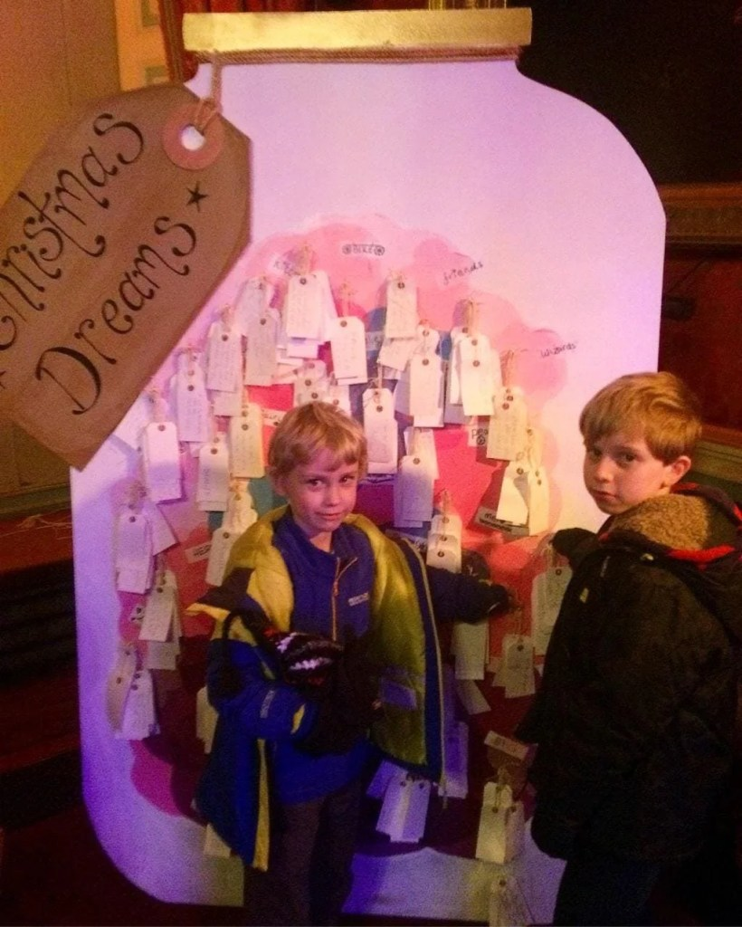 Roald Dahl's Gloriumptious Christmas at Tatton Park www.minitravellers.co.uk