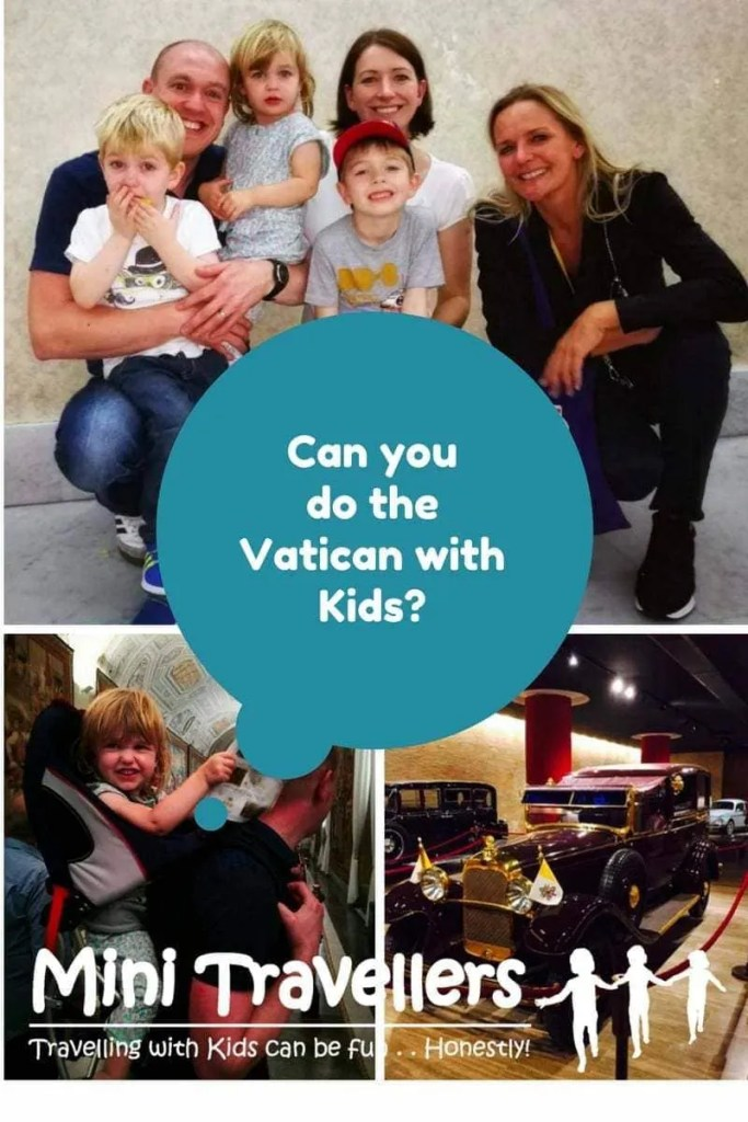Touring the Vatican with Kids www.minitravellers.co.uk