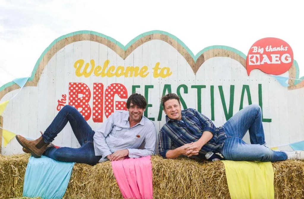 The Big Feastival - as featured in my top family friendly festivals guide at www.minitravellers.co.uk