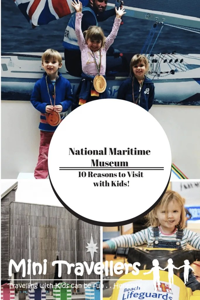 10 Reasons to Visit National Maritime Museum with Kids www.minitravellers.co.uk