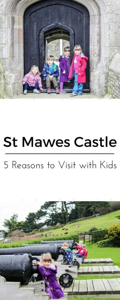 St Mawes Castle Cornwall 5 Reasons to Visit with Kids !www.minitravellers.co.uk