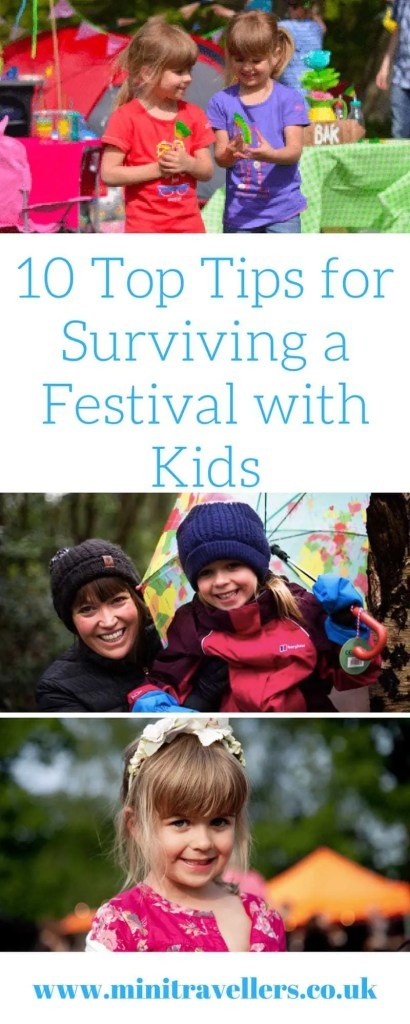 10 Top Tips for Surviving a Festival with Kids