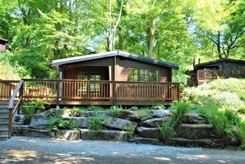 one bedroom log cabins in the lake district. log cabins in the lake district | neaum crag, skelwith bridge one bedroom e