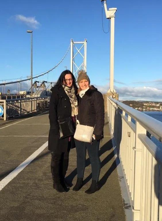 forth bridge walk
