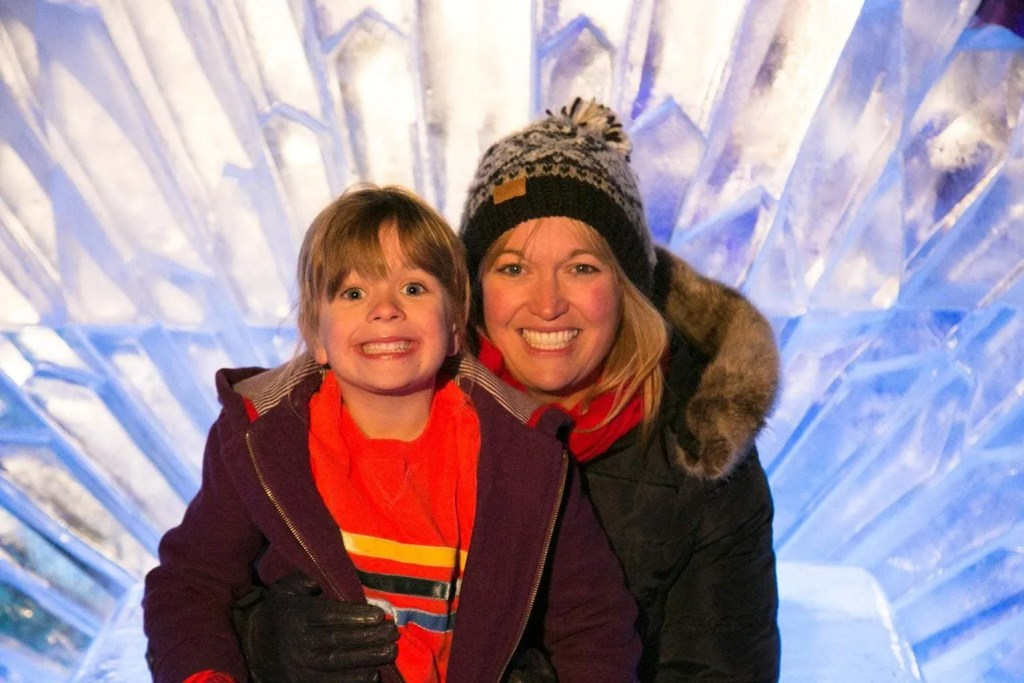 Is it worth taking kids to the Ice Bar in Liverpol?   Liverpool Ice Festival