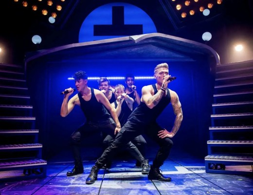 Review of The Band   A Musical with the Music of Take That   Liverpool Empire