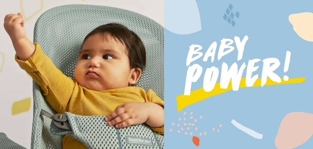 Introducing Baby Power From BabyBjörn   Win a Bouncer Bliss Worth £147