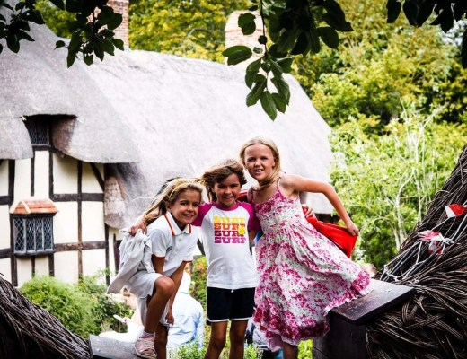 Shakespeare's Birthplace, Shakespeare's New Place and Anne Hathaway's Cottage with Kids | Visit Heritage