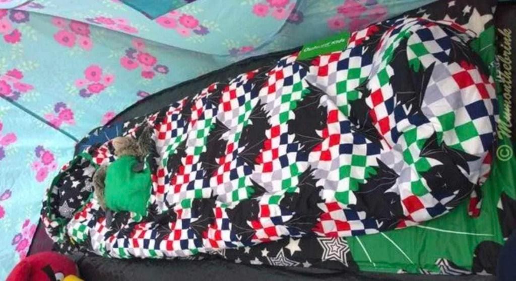 Travel Tips | Sleeping Bags for Festivals | Batman themed sleeping bag for kids