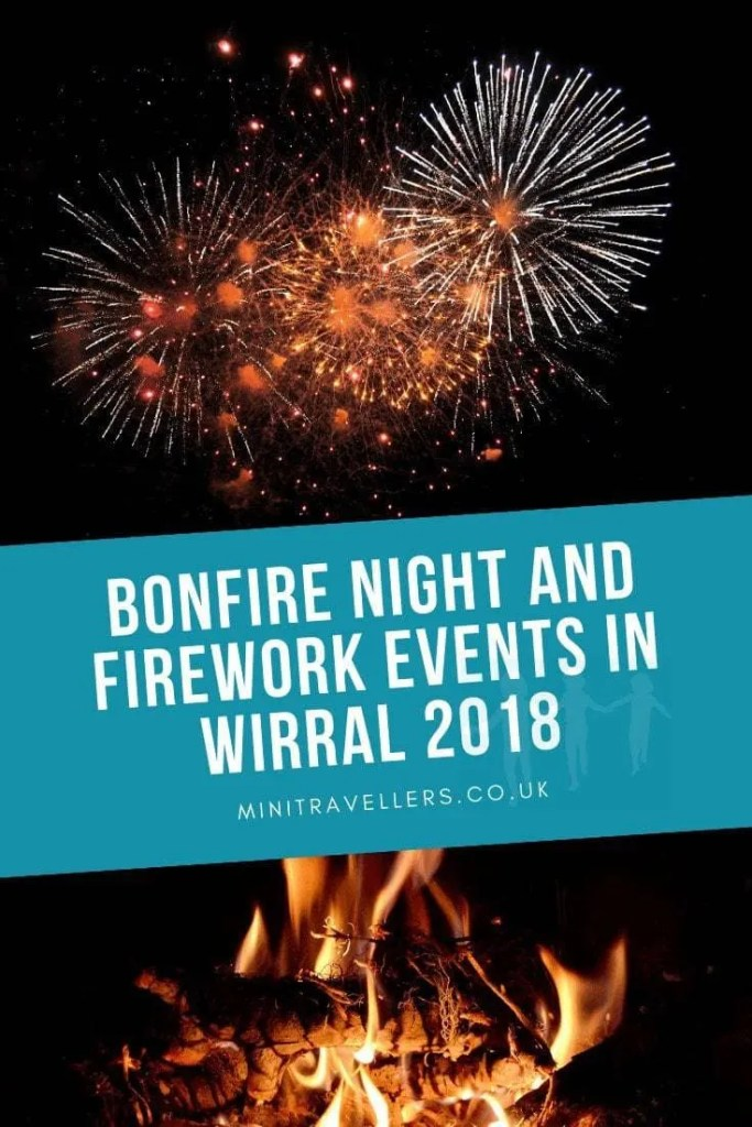 Bonfire Night and Firework Events in Wirral 2018