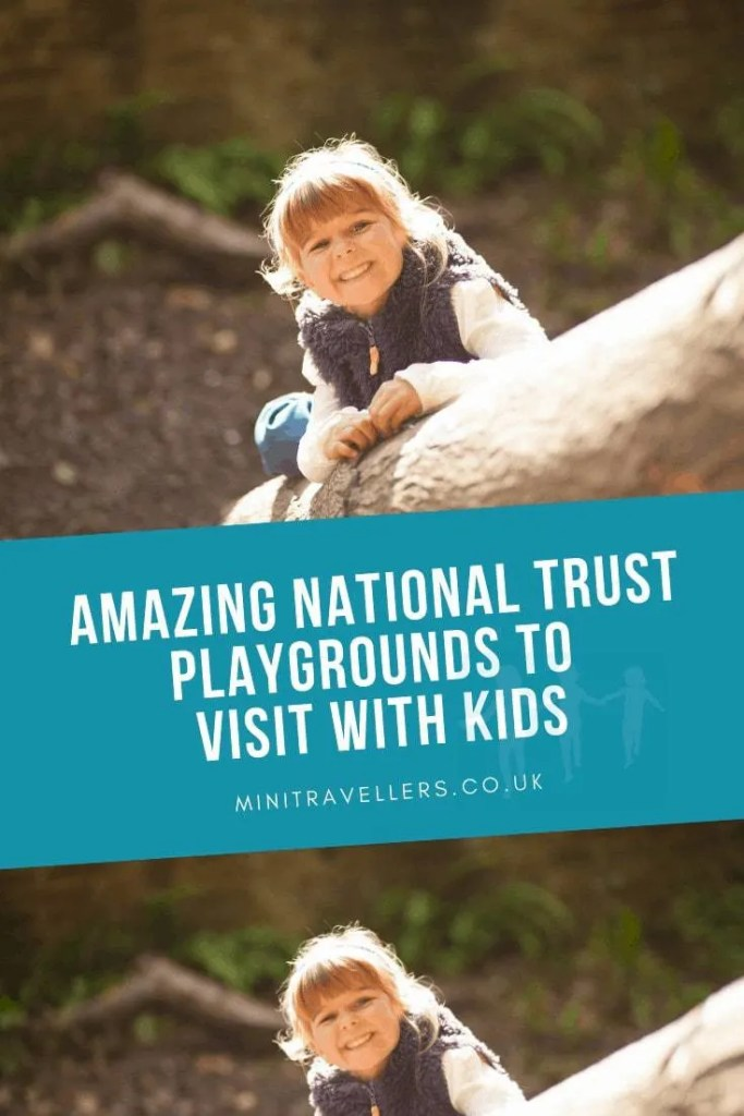 amazing National Trust playground to visit with kids