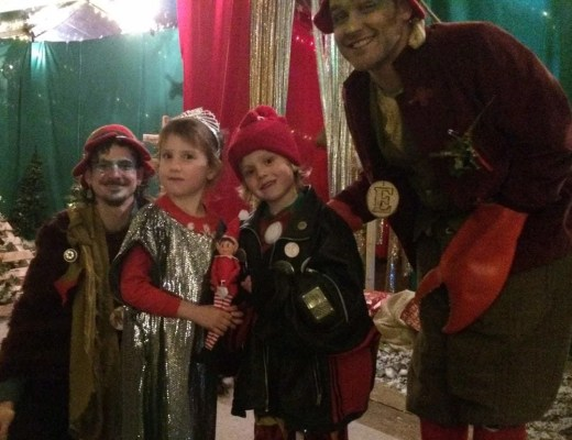 Winter Wonderland Liverpool | Santa at the Bombed Out Church | Review