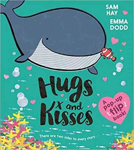 Hugs and Kisses by Sam Hay and Emma Dodd (Egmont)