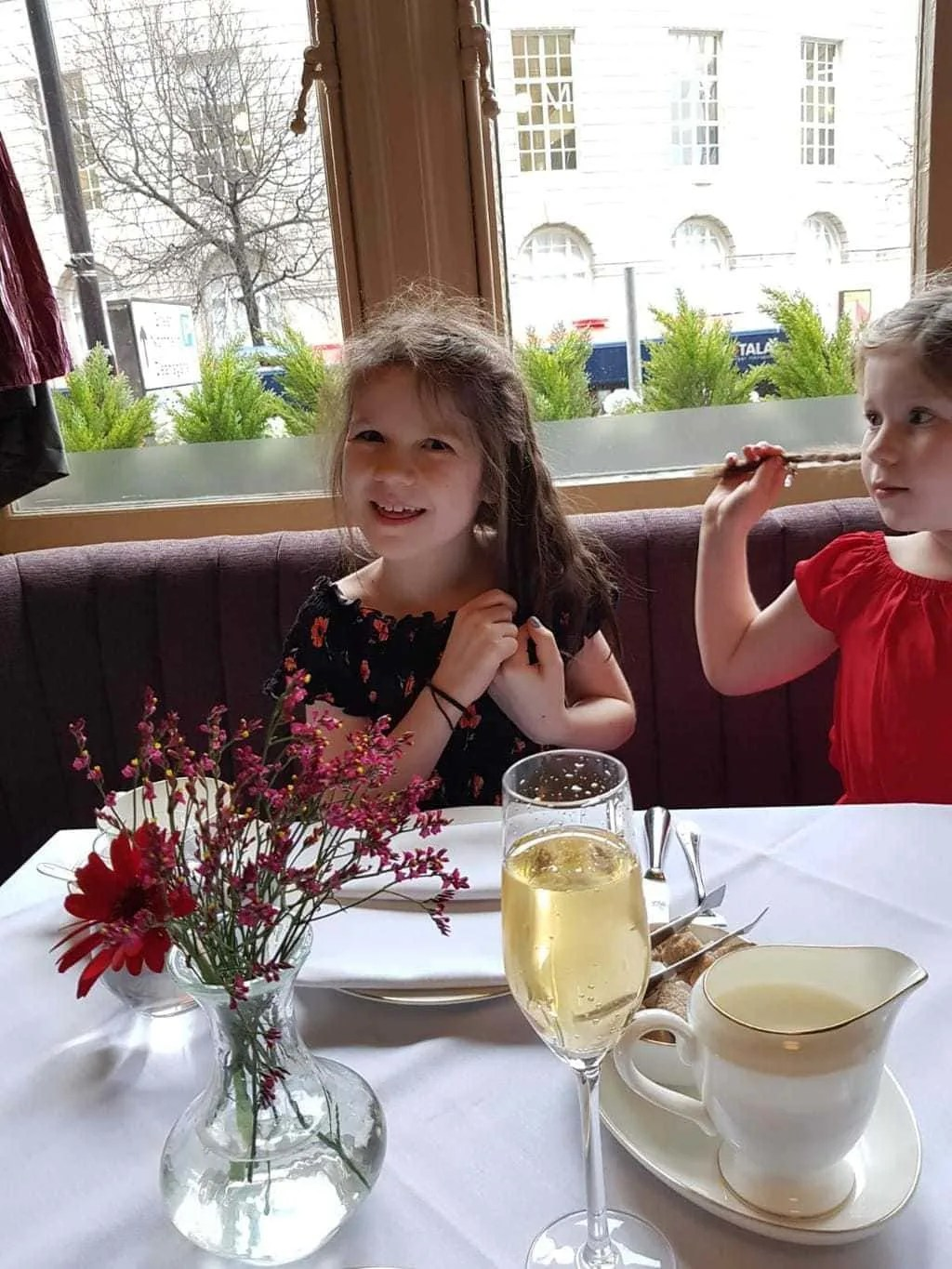 Childrens Afternoon Tea at The Midland Hotel, Manchester