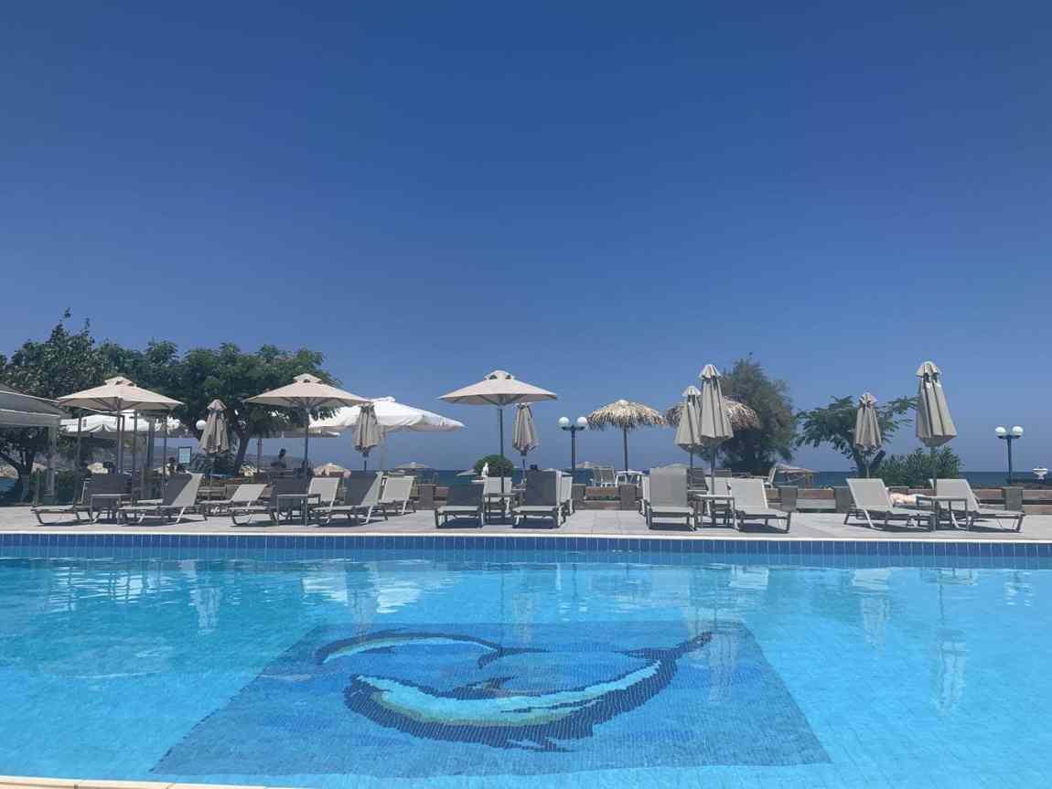 Returning to GK Beach Hotel in Crete in 2020