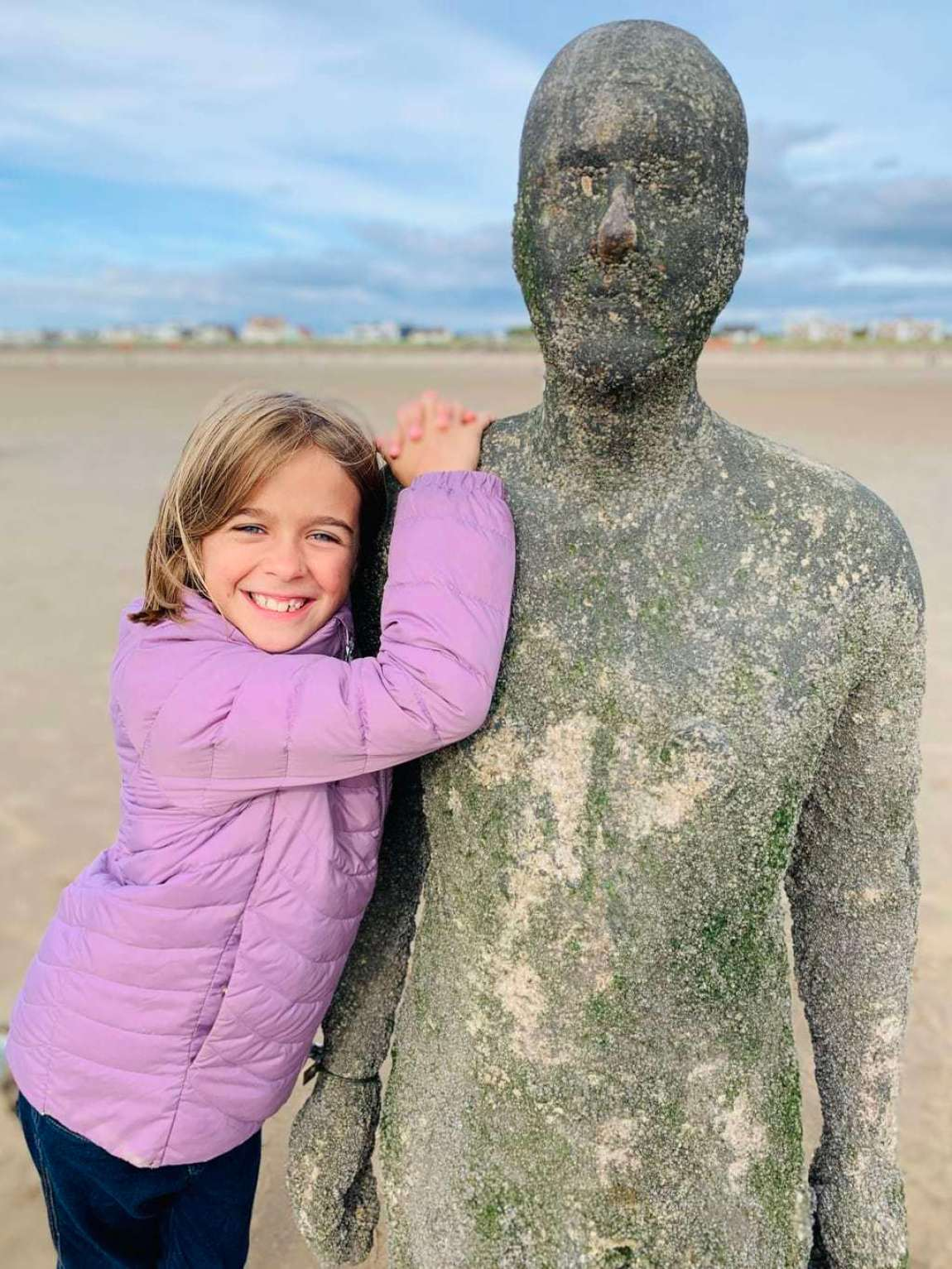 Visiting the Antony Gormley Statues in Liverpool   Another Place, Crosby